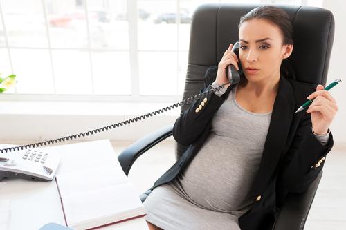 femme enceinte entreprise