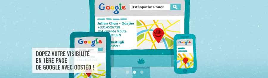 Creation de sites web pour osteopathe