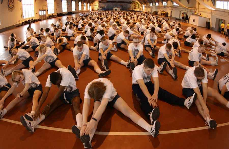 Cinq exercices pour le dos